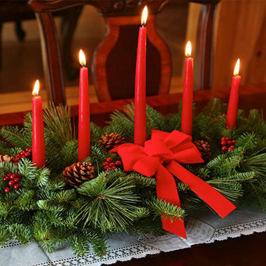 Christmas Classic Five Candle Centerpiece