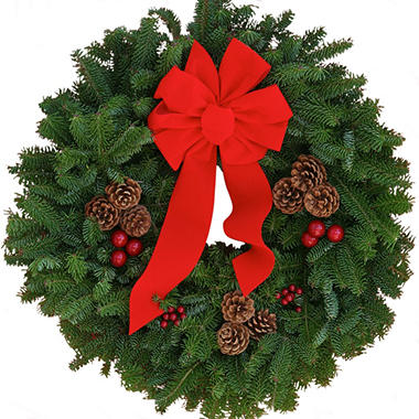 Christmas Classic 24 Inch Wreath