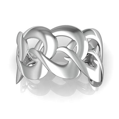 """Just the Two of Us"" Sterling Silver Cuff Bracelet"