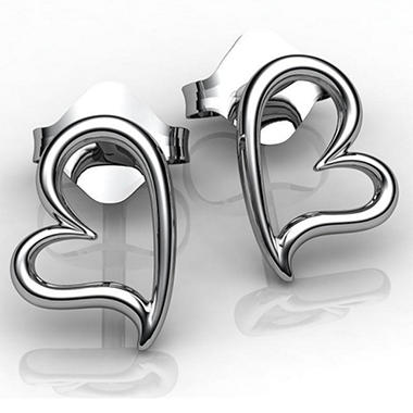 """In Your Possession"" Sterling Silver Earrings"