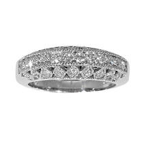 1/2 ct. t.w. Vintage Style Diamond Band
