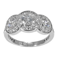 1.50 ct. t.w. 3-Stone Diamond Ring (G-H, SI2)