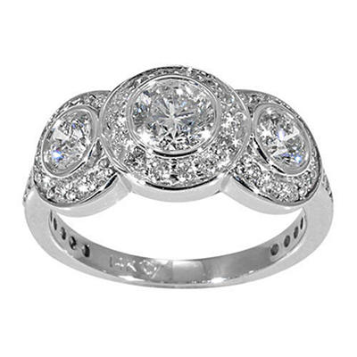 1.50 ct. t.w. 3-Stone Diamond Ring (G-H, SI2)
