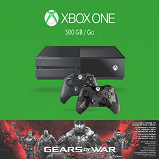 Xbox One 500GB Gears of War Bundle w/ Extra Controller