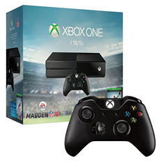 Xbox One 1TB with Madden NFL 16 Bundle w/ Extra Controller