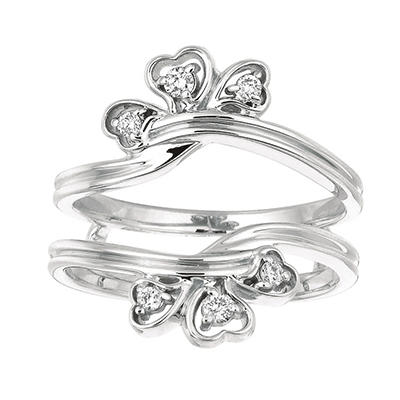 0.14 ct. t.w. Round-Cut Diamond Ring Guard (I, I1)
