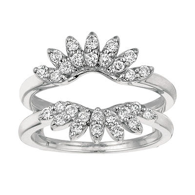 0.56 ct. t.w. Round-Cut Diamond Ring Guard (I, I1)
