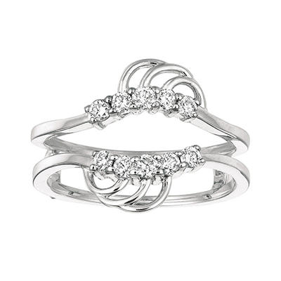 0.32 ct. t.w. Round-Cut Diamond Ring Guard (I, I1)