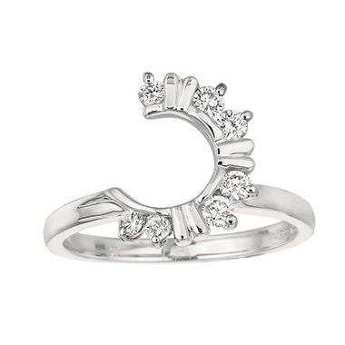 0.30 ct. t.w. Round-Cut Wrap Around Diamond Ring (I, I1)