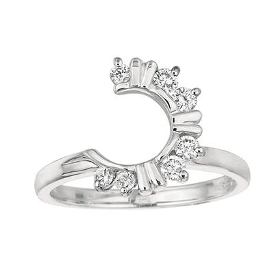 0.30 ct. t.w. Round-Cut Wrap Around Diamond Ring (I, I1)