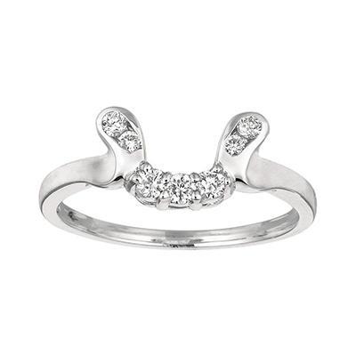 0.21 ct. t.w. Round-Cut Diamond Wrap Ring (I, I1)