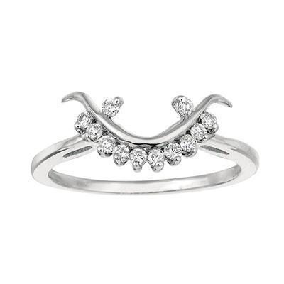 0.18 ct. t.w. Round-Cut Diamond Wrap Ring (I, I1)