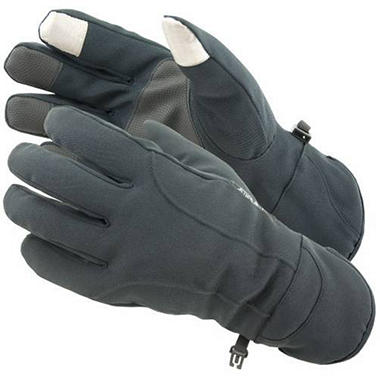 Manzella Softshell Men's Commuter Gloves with TouchTip? - Graystone