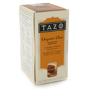 Tazo Tea Bags - Organic Chai - 24 ct.- 6 pk.