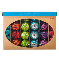 Shatterproof Ornament Collection - Multicolor (100 Count)