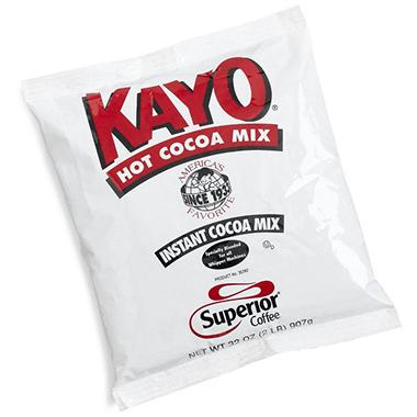 Kayo Hot Chocolate Mix - 2 lb. Bags - 12  ct.