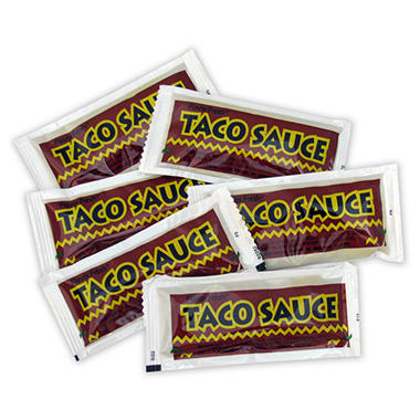 Taco Sauce - Single Serve Pouches - 9 gram - 200 ct.