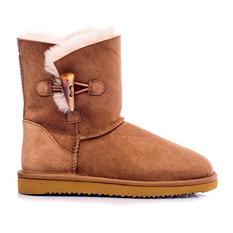 Cozie Steps 100% Genuine Australian Sheepskin Toggle Boot
