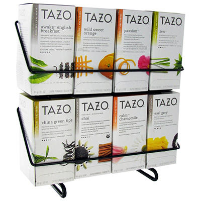 Tazo Tea Bag Variety Pack with Display Stand- 24 ct. - 8 boxes