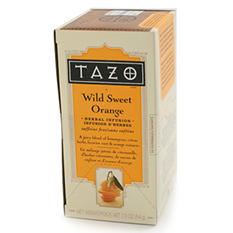 Tazo Tea Bags - Wild Sweet Orange - 24 ct. - 6 pk.