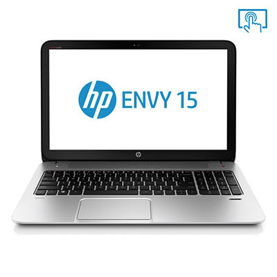 HP ENVY 15-j107cl Touchscreen Laptop Computer, AMD A10-5750M, 12GB Memory, 1TB Hard Drive