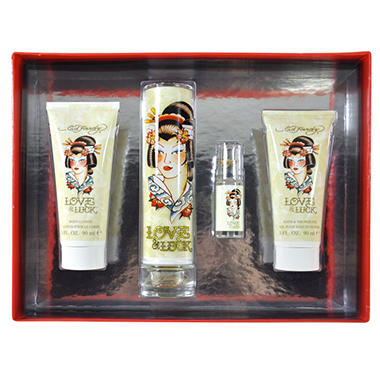 GIFT SET FRAGRANCE E HARD WMN LOVE LOCK