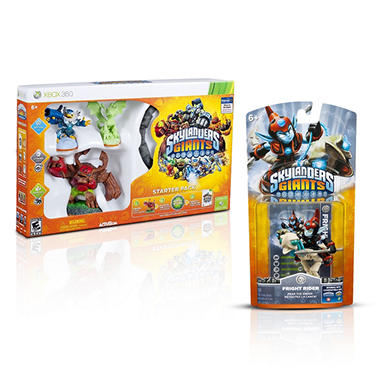 Skylanders Giants Exclusive Glow-the-Dark Starter Pack with Single Character Pack