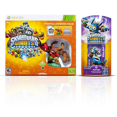 Skylanders Giants Portal Owner's Pack with Single Character