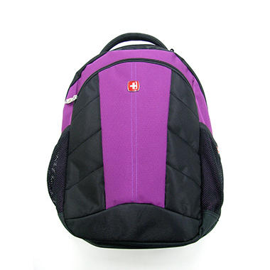 SwissGear Laptop Daypack - Purple