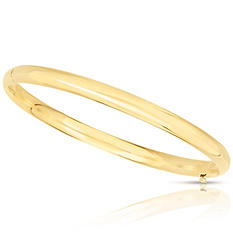5mm Polished Bangle In 14K Yellow Gold