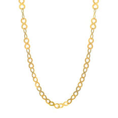 """16"""" Infinity Necklace In 14K Yellow Gold"""