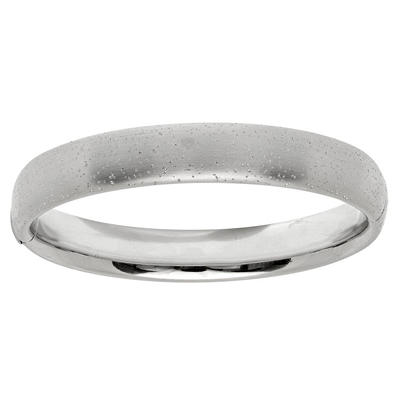 12mm Stardust Bangle In Sterling Silver