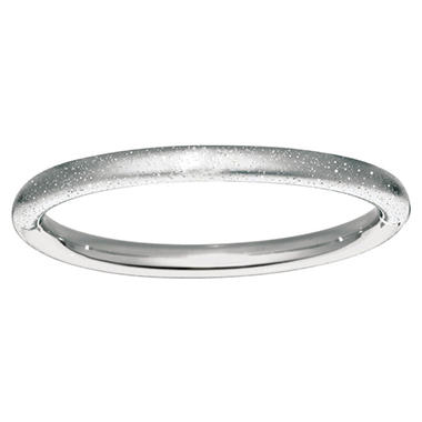 7.3mm Stardust Bangle In Sterling Silver