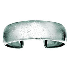 20mm Stardust Cuff Bangle In Sterling Silver