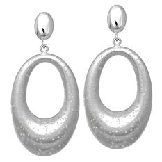Stardust Dangle Earring in Sterling Silver