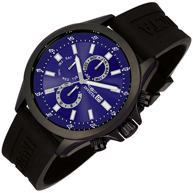 Invicta Specialty Sport Men's Watch - Black Dial with Blue Face