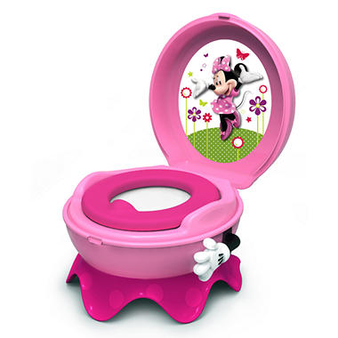 Disney Minnie Mouse, 3-in-1 Celebration Potty System