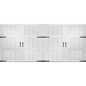 Amarr Classica 2000 White Carriage House Garage Door - Multiple Options Available