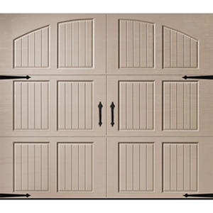 Amarr Classica 3000 Sandtone Carriage House Garage Door - Multiple Options Available