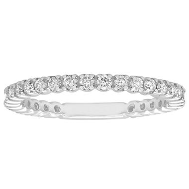 0.55 ct. t.w. Diamond Band in 14K White Gold (H-I, I1)