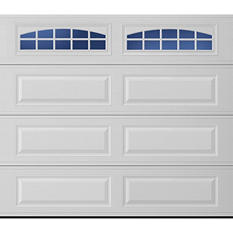 Amarr Stratford 3000 White Panel Garage Door - Multiple Options Available