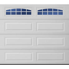 Amarr Stratford 1000 Series White Panel Garage Door - Multiple Options Available