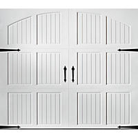 Amarr Classica 1000 White Carriage House Garage Door - Multiple Options Available