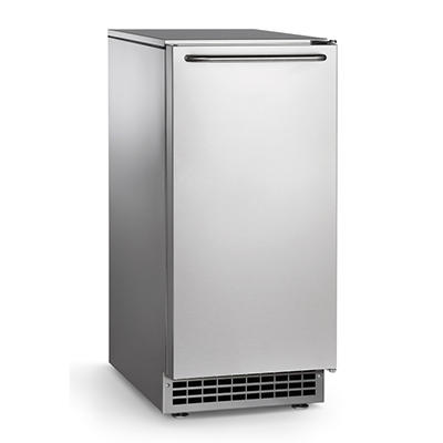 65 lbs. Self-Contained Undercounter Cube Ice Machine - 26 lbs. Bin Capacity