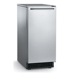 Scotsman 65 lbs. Self-Contained Under-counter Cube Ice Machine - Built-In Drain Pump - 26 lbs. Bin Capacity