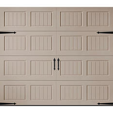Amarr Oak Summit 1000 Sandtone Panel Garage Door - Multiple Options Available