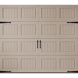 Amarr Oak Summit 1000 Sandtone Panel Garage Door - Multiple Options Available