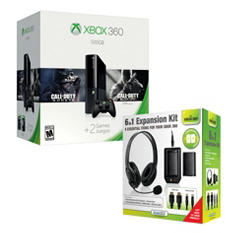 Xbox 360 Bundle with Dreamgear 6N1 Expansion Kit