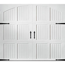 Amarr Classica 3000 White Carriage House Garage Door - Multiple Options Available