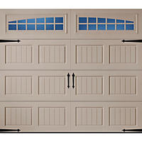 Amarr Oak Summit 3000 Sandtone Panel Garage Door - Multiple Options Available